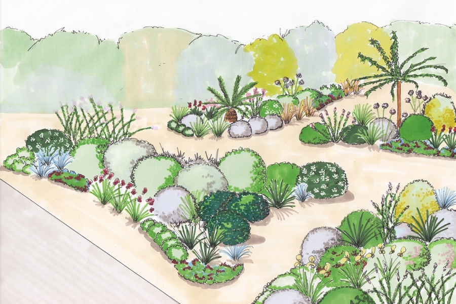 Jardin m diterran en archives page 3 sur 3 atelier for Creation jardin mediterraneen