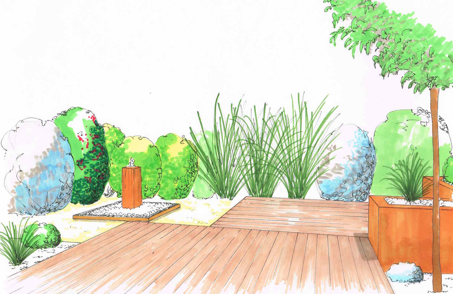 Jardin m diterran en archives page 3 sur 3 atelier for Creation paysage