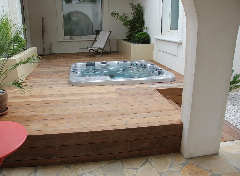 spa sur terrasse