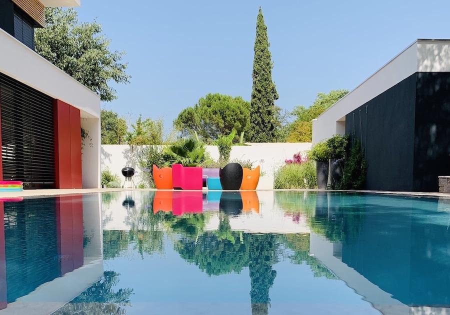 Jardin méditerranéen moderne – Castelnau-le-Lez
